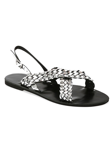 Matraş Hakiki Deri Sandalet